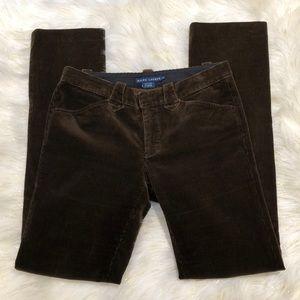 Ralph Lauren Brown Corduroy Pants 8